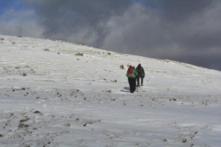 Winter Hillwalking on Dale Head